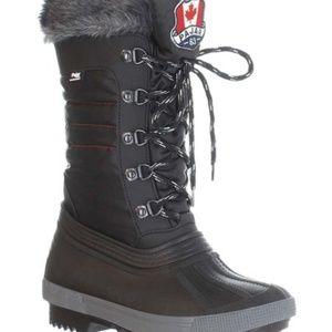 NWT Pajar Doris Black Winter Boots